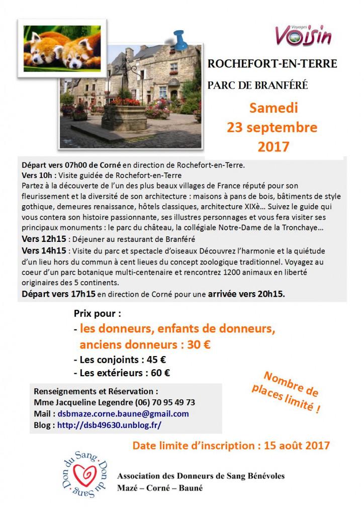 Voyage Rochefort